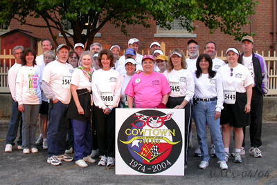 "The 2004 Cowtown, ""Race for the Cure"" Participants"